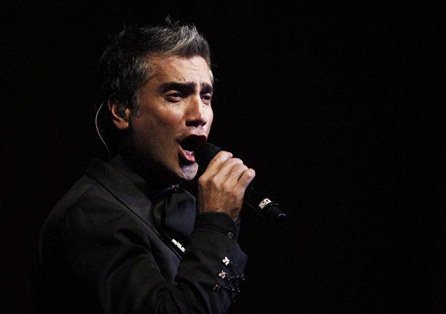Alejandro Fernández, cantante mexicano (archivo)