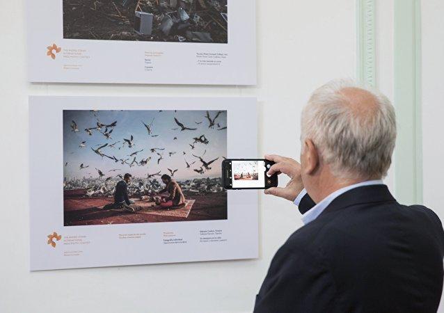 Exposición del concurso Andréi Stenin en Buenos Aires