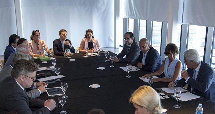 La reunión RTA y medios rusos