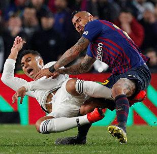 El partido Real Madrid - Barcelona