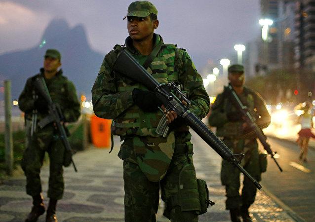 Soldados brasileños (imagen referencial)