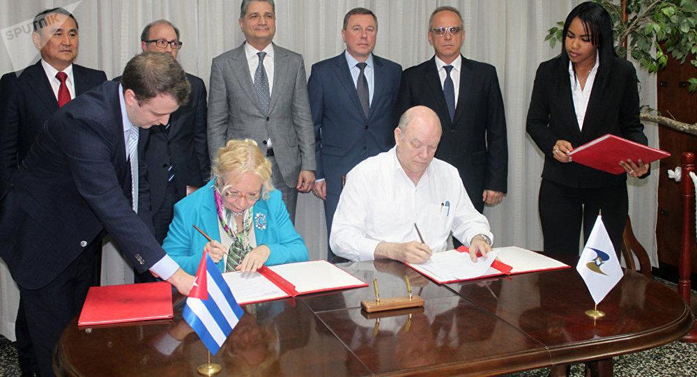 Cuba y Comisión Económica Euroasiática suscriben plan de acción para 2019