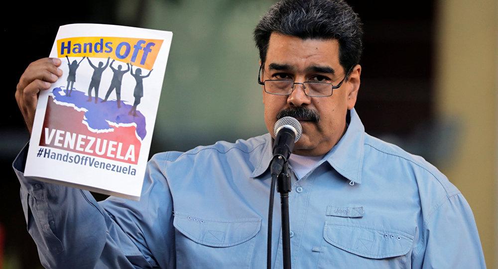 Guaidó no descarta una intervención extranjera