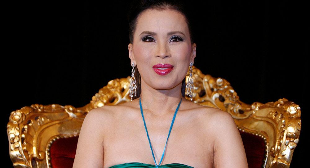 La princesa Ubolratana Rajakanya, hermana mayor del rey de Tailandia