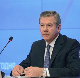 El embajador de Rusia ante la oficina de la ONU en Ginebra, Guenadi Gatílov