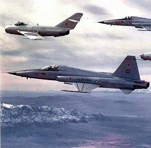 Aviones de la Escuadra de Evaluación Táctica 4477