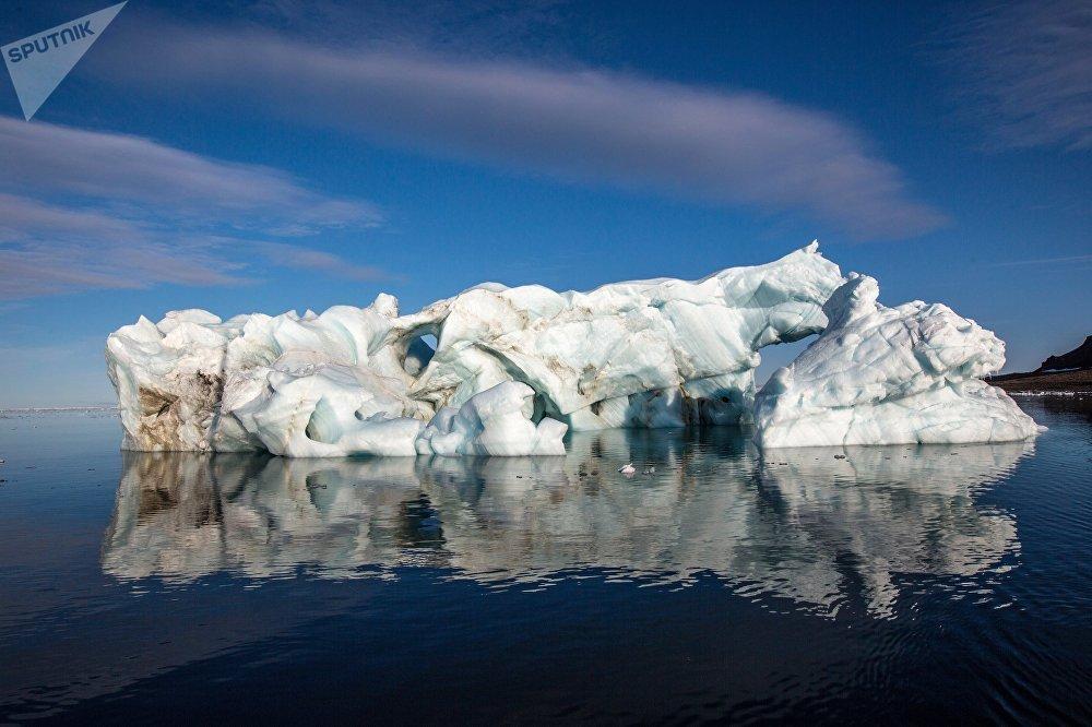 Hielo en Ártico