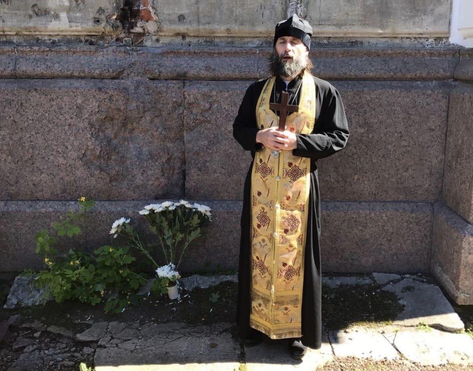 Arcipreste Alejandro Iwaszewicz, de la Iglesia Ortodoxa rusa de Buenos Aires