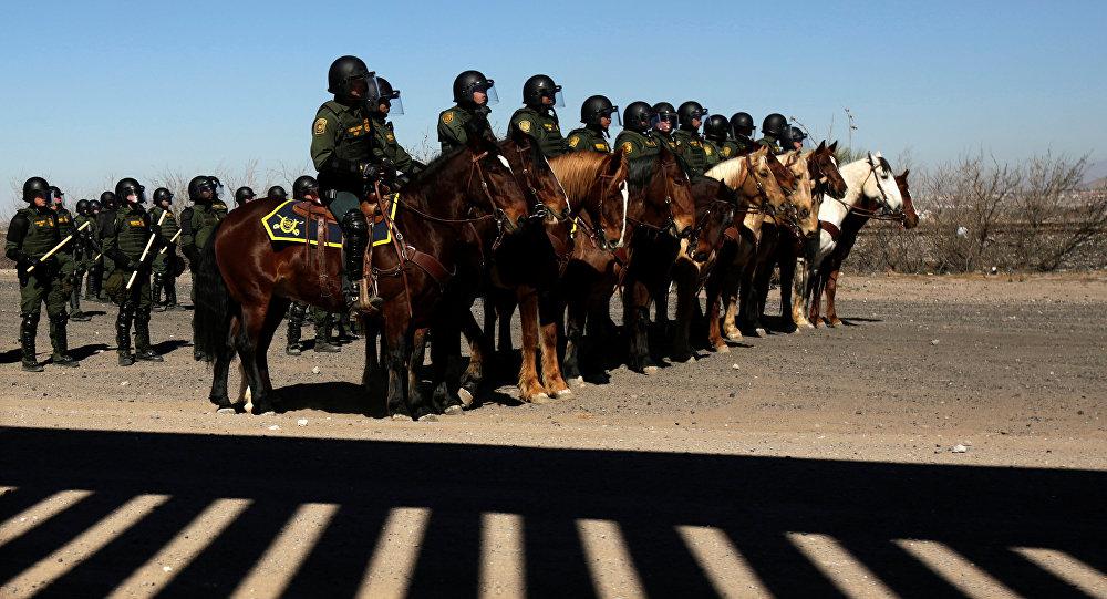 Agentes de la patrulla fronteriza de EEUU