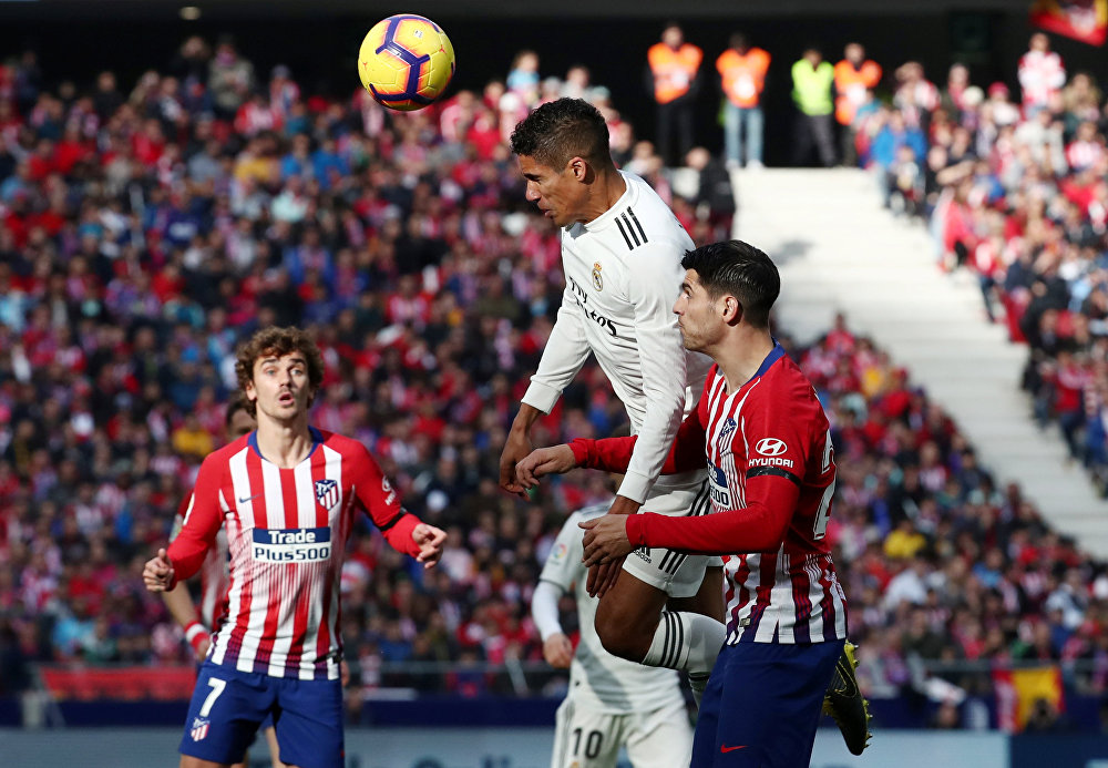 Real Madrid vs Atlético Madrid: la batalla de los titanes, en imágenes
