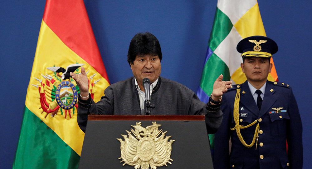 Evo Morales amenaza hacia Venezuela es por sus recursos