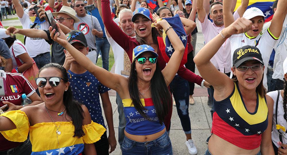 En Venezuela no hay una crisis humanitaria, hay una economía bloqueada — Arreaza