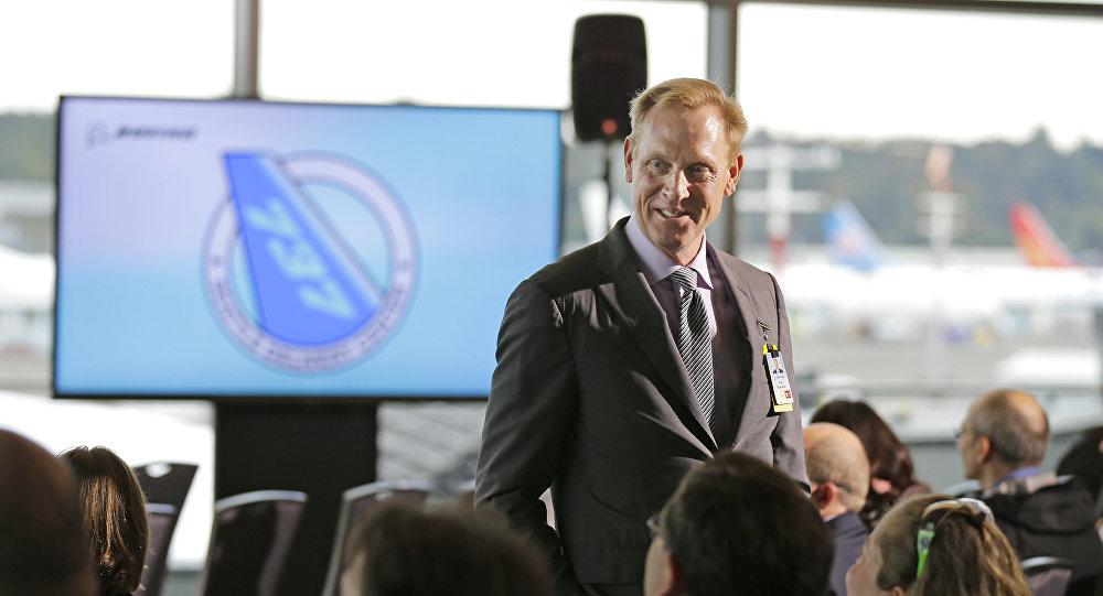 Pat Shanahan, jefe en funciones del Pentágono (archivo)