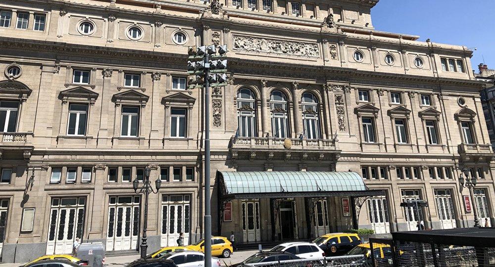 Teatro Colón en Buenos Aires, Argentina