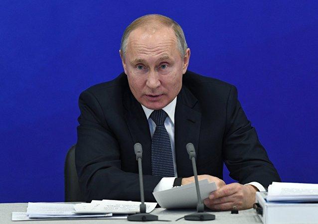 El presidente Vladímir Putin en Tartaristán
