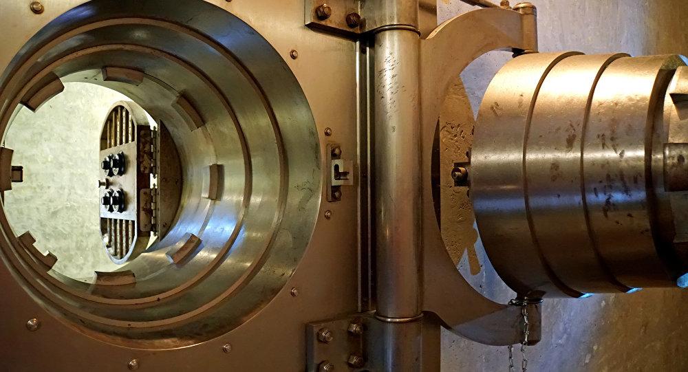 Caja fuerte bancaria (imágen referencial)