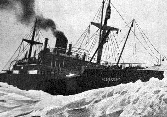 El buque Cheliuskin