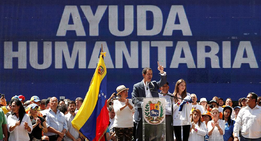 """EE.UU. considera entregar la ayuda humanitaria a Venezuela """"desde el aire"""""""
