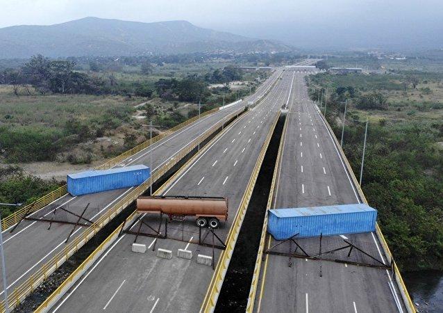 Puente entre Colombia y Venezuela
