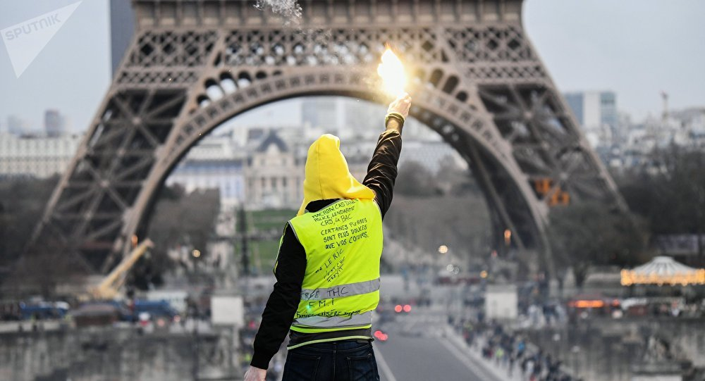 Las protestas de los 'chalecos amarillos' en París (archivo)