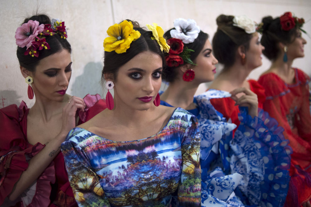 El Salón Internacional de la Moda Flamenca (SIMOF) en Sevilla.