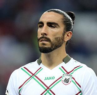 El futbolista español Chico Flores