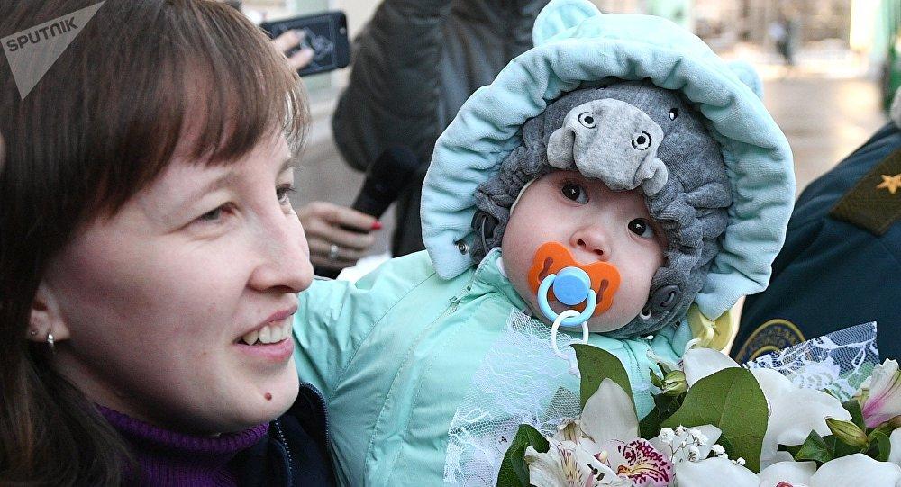 Vania Fokin, rescatado tras la explosión en Magnitogorsk