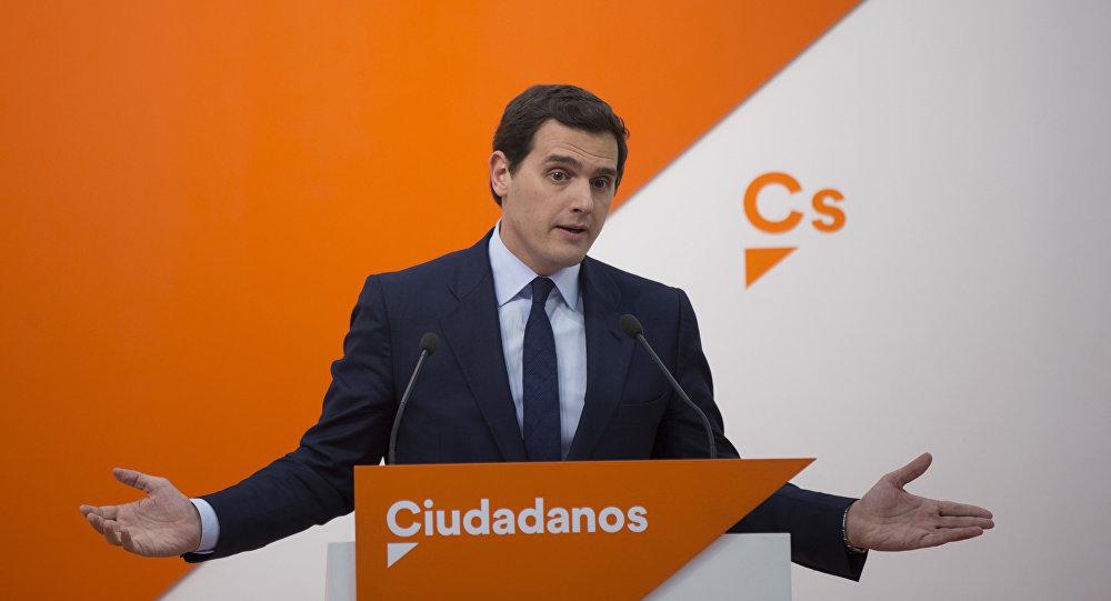Albert Rivera, líder del partido Ciudadanos (archivo)