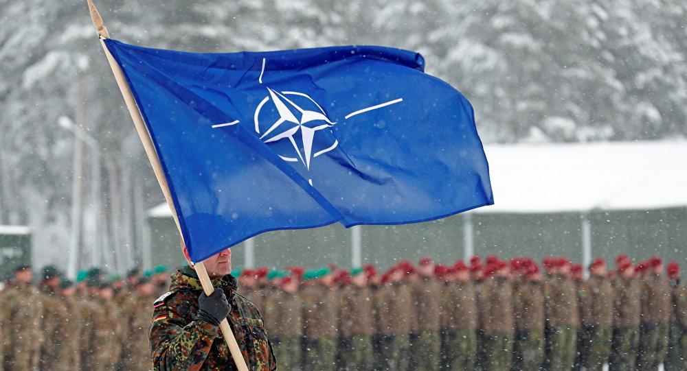 Bandera de la OTAN (imagen referencial)