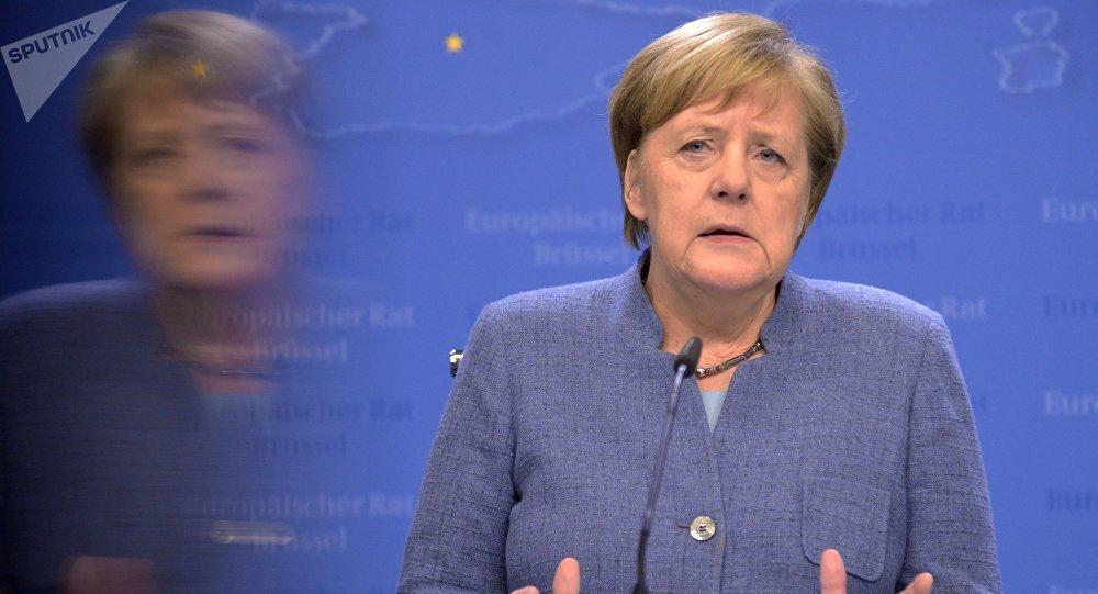 Angela Merkel, canciller de Alemania (archivo)