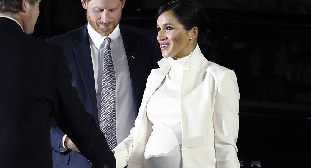 Meghan Markle, la duquesa de Sussex, y el príncipe Harry