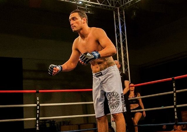 Sofiane Boukichou, luchador francés de artes marciales mixtas