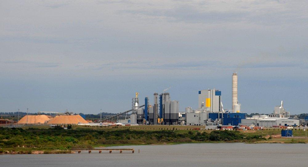 Planta de celulosa de UMP en Uruguay