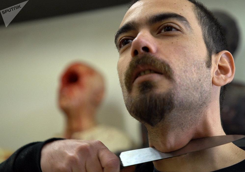 Prokopis Vlaseros, artista de efectos especiales griego