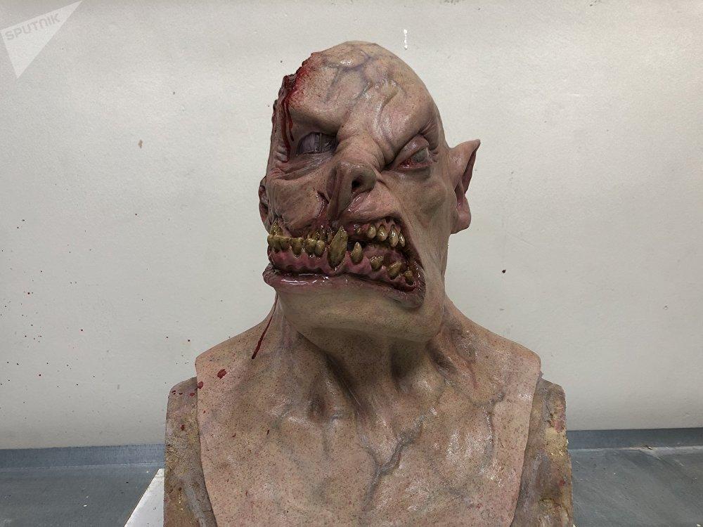 Una máscara creada por Vlaseros