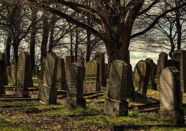 Un cementerio judío (imagen referencial)