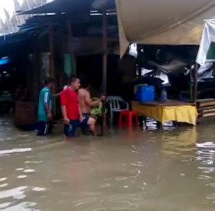 Lluvias torrenciales en Perú se cobran al menos 39 vidas