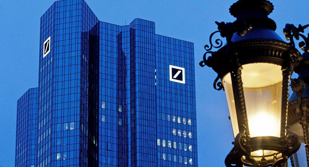 La sede de Deutsche Bank en Frankfurt, Alemania
