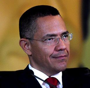 Ernesto Villegas, ministro de Cultura de Venezuela