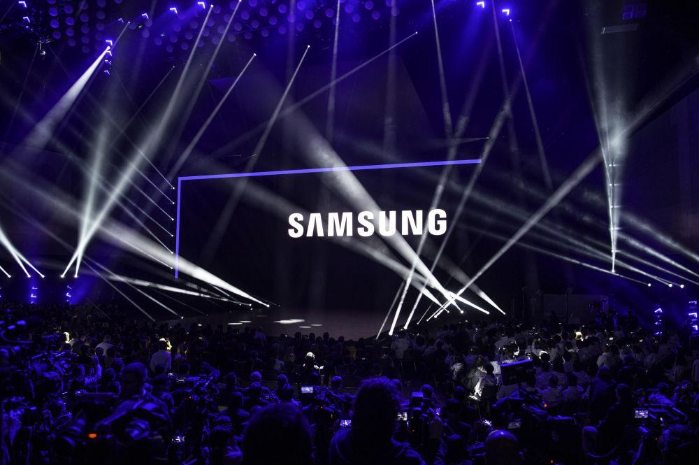 Samsung muestra al mundo su teléfono plegable
