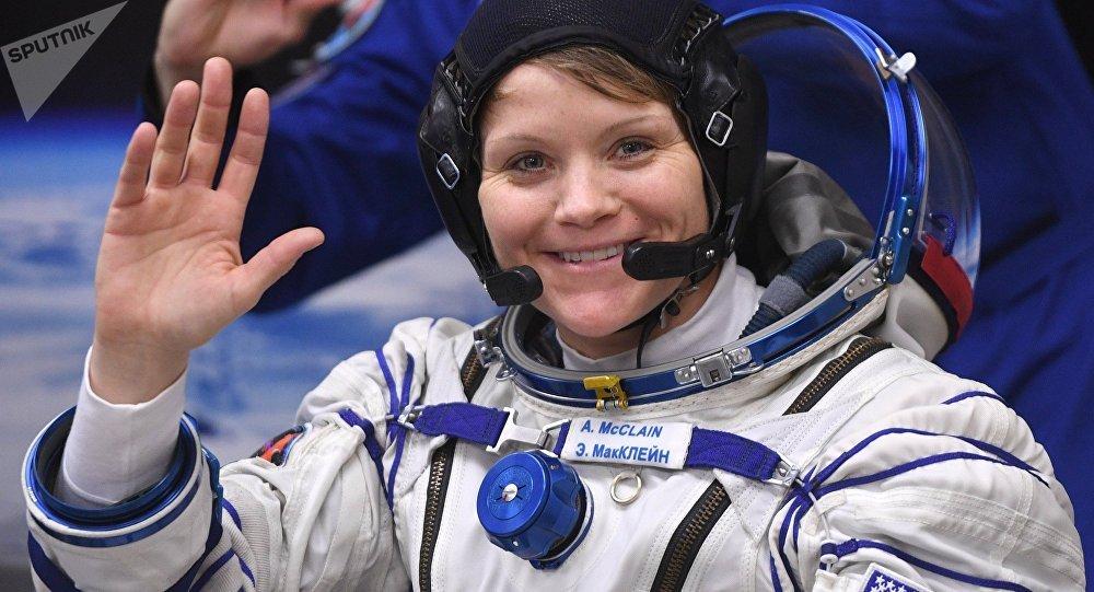 La astronauta estadounidense Anne McClain