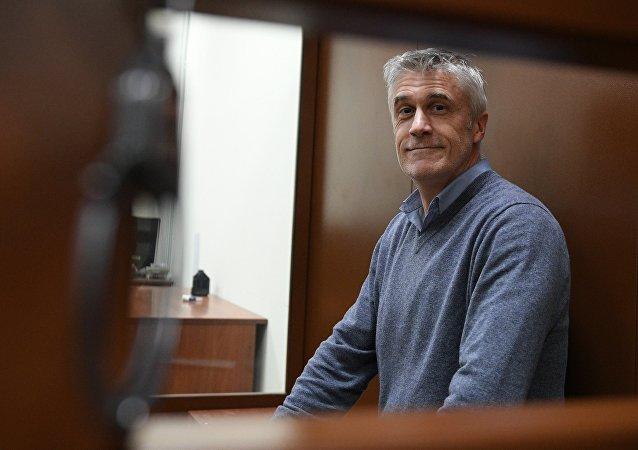 Michael Calvey, inversor estadounidense, fundador de la empresa de inversiones Baring Vostok (archivo)