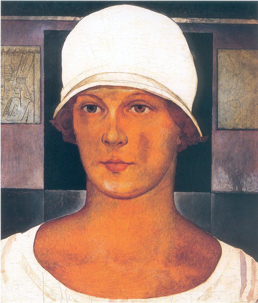 Nikolai Iónin 'El retrato de Iónina' 1920