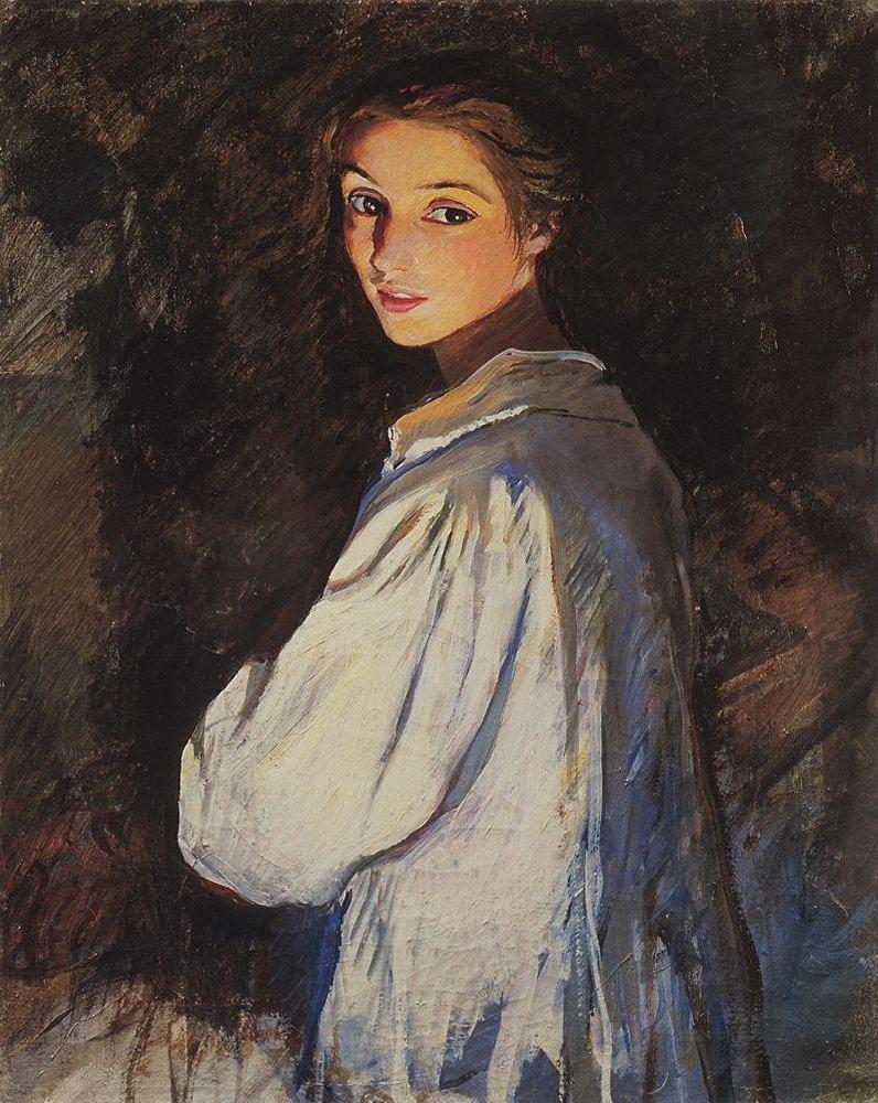 Zinaída Serebriakova 'Una jóven (Autoretrato)' 1911