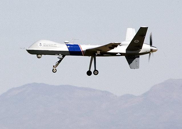 Un dron MQ-9 Reaper de EEUU