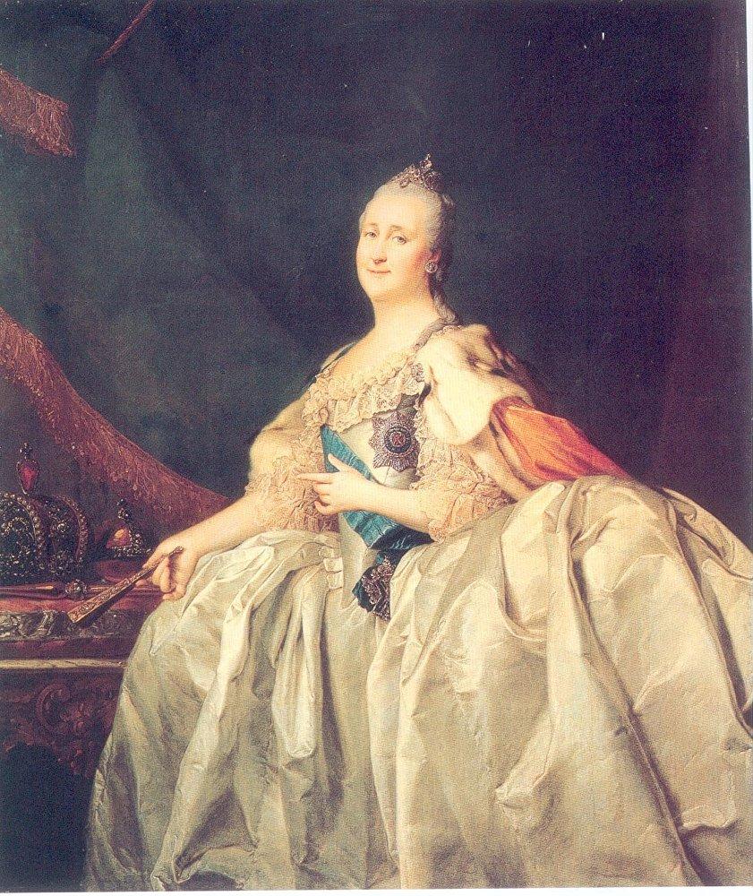Dmitri Levitski 'El retrato de Catalina II' 1782