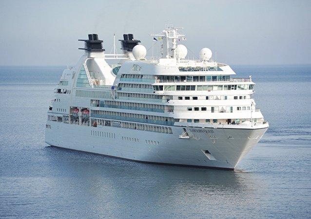 Un crucero (imagen referencial)