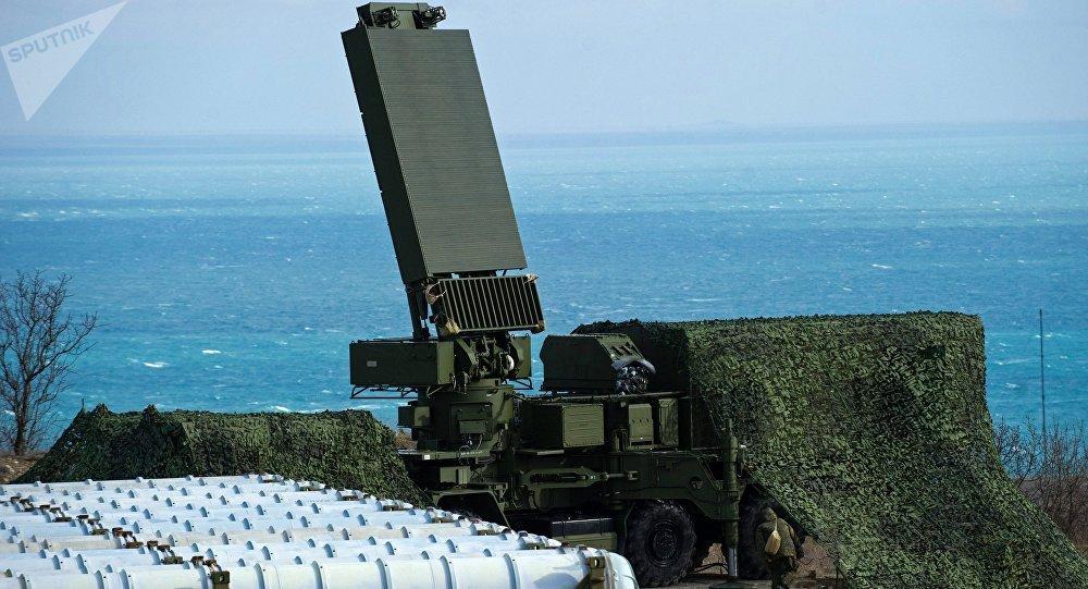 El radar 96L6E de los sistemas S-400
