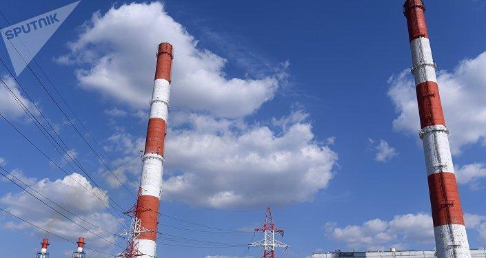Central termoeléctrica (imagen referencial)