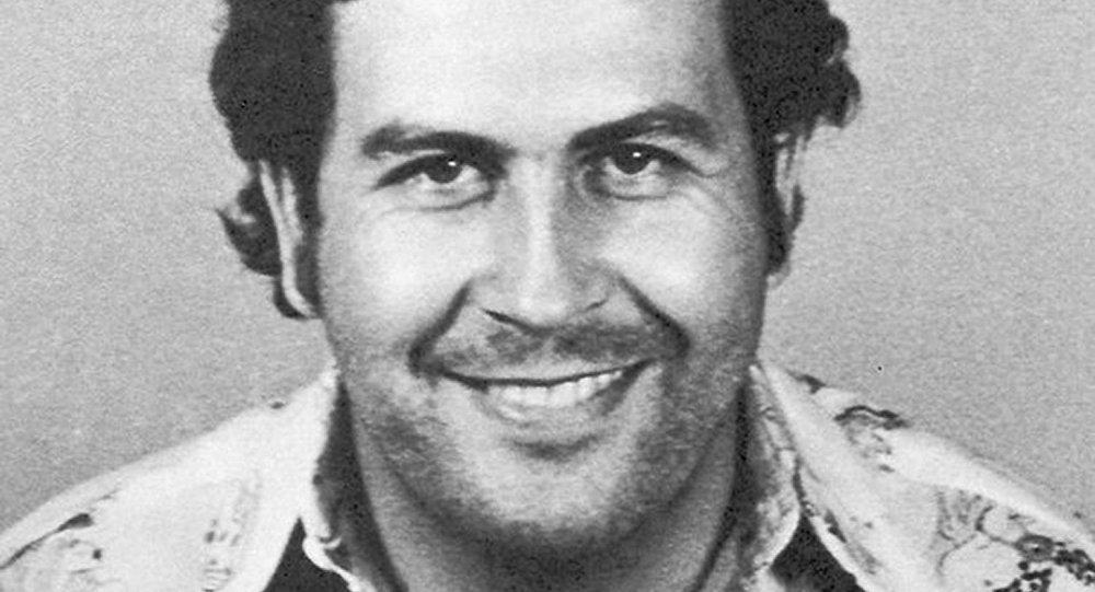 La foto de captura de Pablo Escobar en Colombia en 1977
